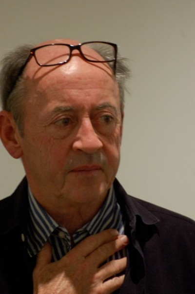Billy Collins in Winter Park, Florida, at an Arts show. Photo taken by Roger Casey.