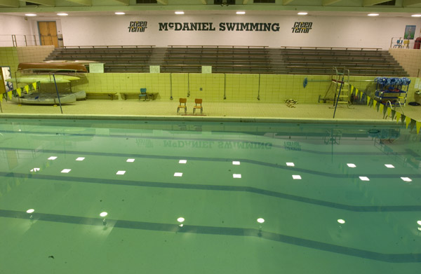 McDaniel College's Harlow Pool (Source:http://www.mcdanielathletics.com/information/facilities/pool.)