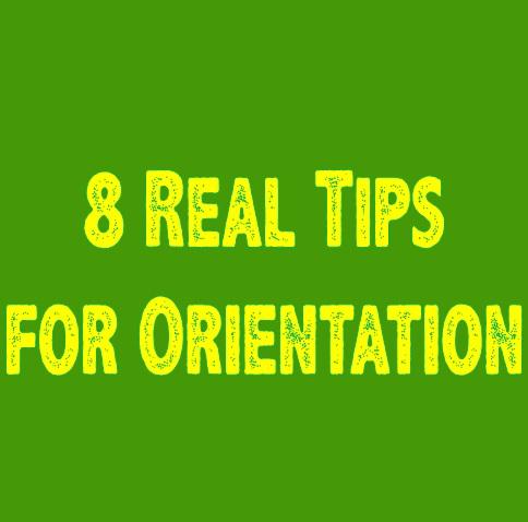 Orientation-Tips