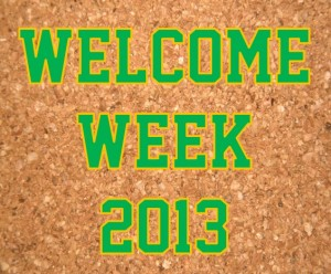 Welcome-Week-2013