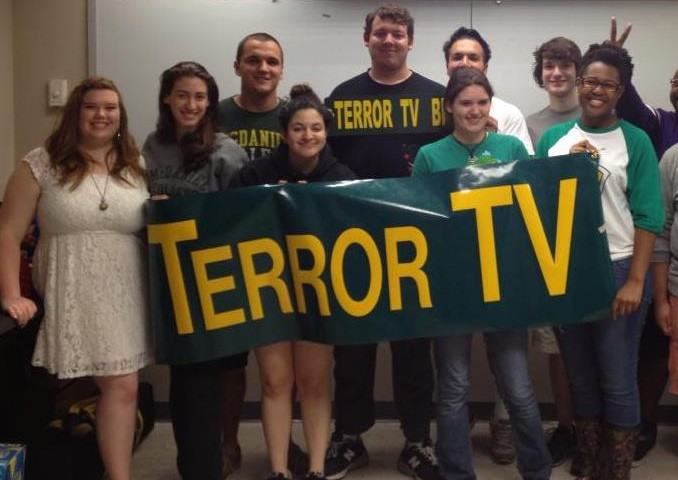 Members of Terror TV, McDaniel's TV Club.