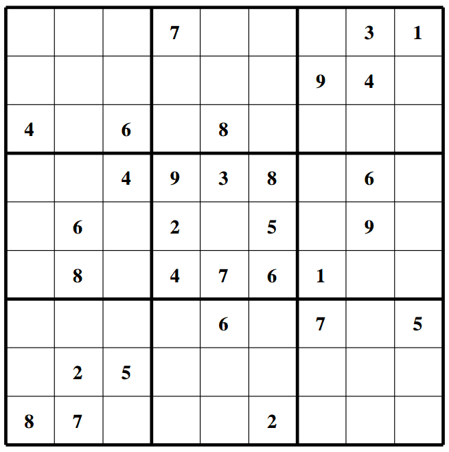 SudokuSolutions