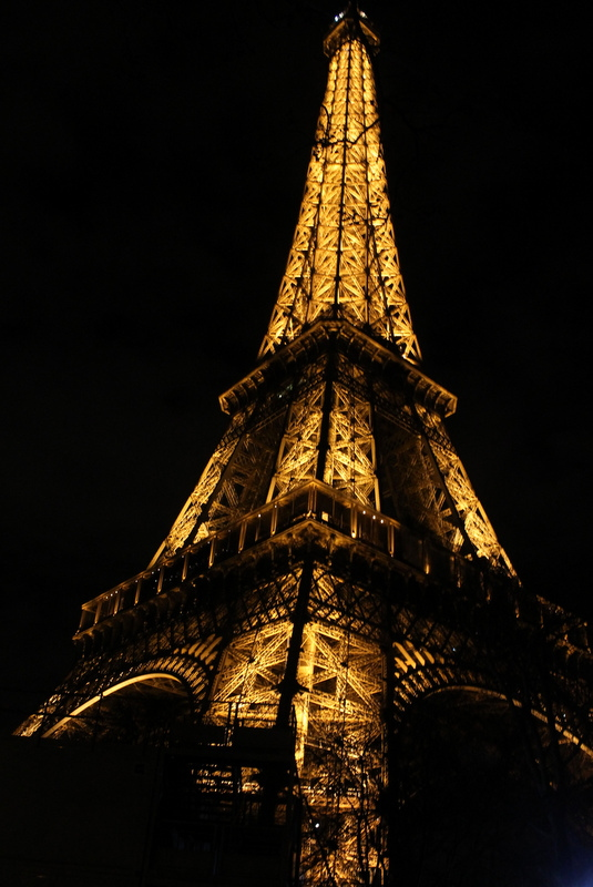 The Eiffel Tower; Image by Mary Elder
