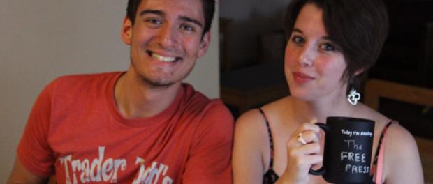 Daniel Valentin-Morales and Sarah Hull