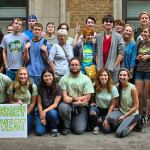 All of the McDaniel students who attended the People's Climate March.