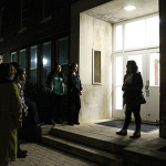 Alpha Psi Omega hosted ghost tours around campus.