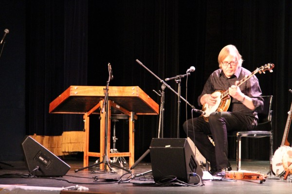 Tony Trischka, banko legend, performs for Common Ground on the Hill at the Carroll Arts Center Nov. 1