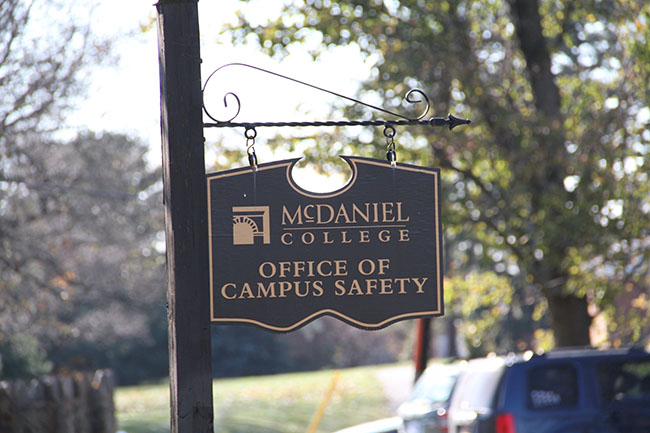 McDaniel College Campus Safety