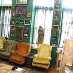The Green Room in Alumni Hall.