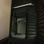 The top of the Elderdice stairs looking down.