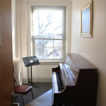 A practice room in Levine.