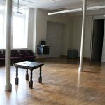 Practice room in Alumni Hall.