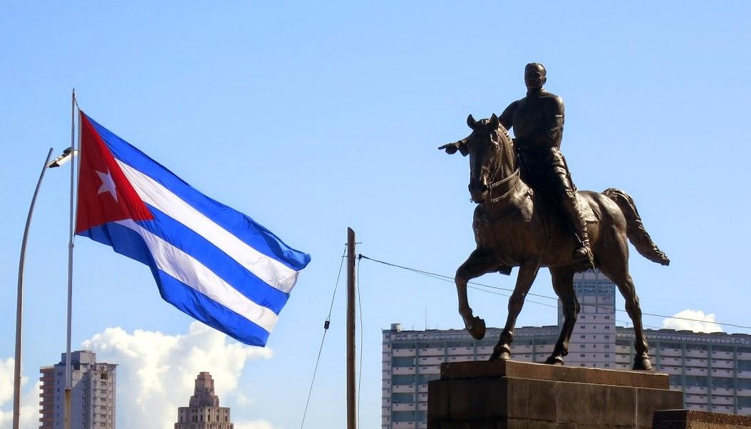 A statue of Jose Marti in Havana, Cuba. Photo by Katie Trembley.