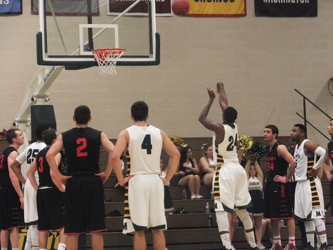 McDaniel Men's Basketvall vs. Haverford