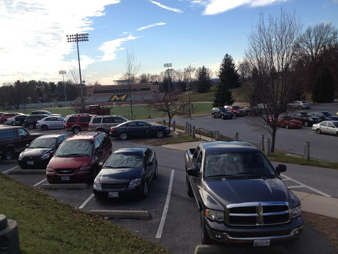 McDaniel College parking