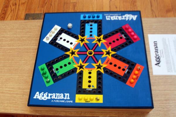 """""""Aggranan,"""" Morgan Jurasko. Acrylic, gumballs, paper."""