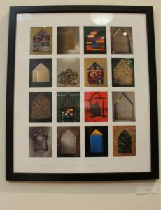 """""""Look Mom, I Made a House,"""" Betty Japinga. Digital print."""