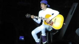 Justin Bieber performing in 2010. (Emma Carter / McDaniel Free Press)