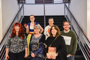 Some members of the library staff came to work in costumes on Oct. 30 since Halloween fell on a weekend this year.
