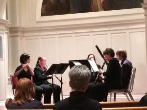 McDaniel's Woodwind Quintet. Photo by Emma Carter
