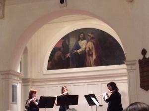 McDaniel's Flute Quartet. Photo by Emma Carter
