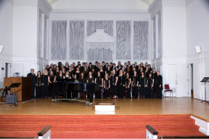 McDaniel's College Choir. Photo courtesy of McDaniel College