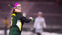 Sam Barbeito tallied seven goals against Frostburg on Thursday. Photo courtesy of mcdanielathletics.com