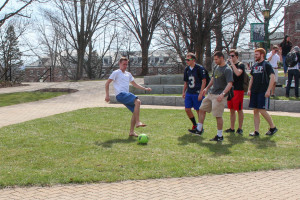 Soccer in the spring, a McDaniel tradition
