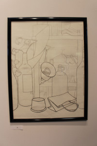 """Line Drawing"" by Rachel Getz. Photo courtesy of Emma Carter"