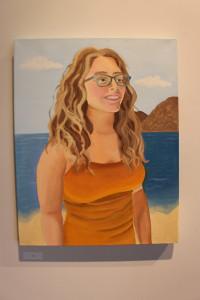 """Self-Portrait"" by Rachel Sentz. Photo courtesy of Emma Carter"