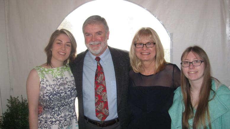 Sarah Crockett (left) and family. Photo courtesy Sarah Crockett.