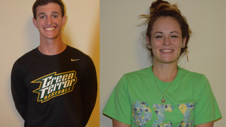 Cody Dorsey (left) and Brittany Powers (right). Photos courtesy of Lauren Trainor.