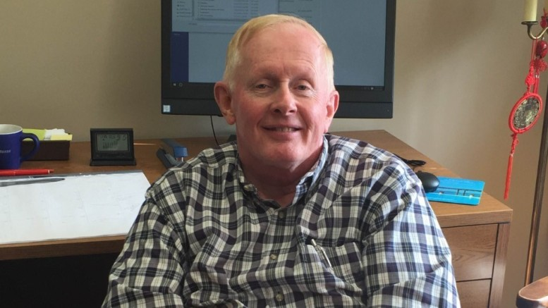 Professor Donald Lavin. Photo courtesy of Genna Weger.