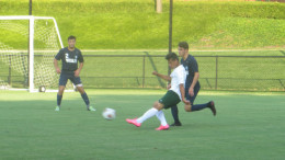 Men's Soccer vs. Wesley.