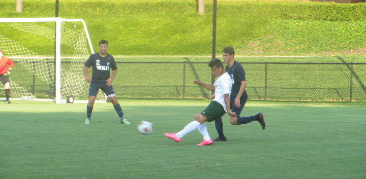 Men's Soccer vs. Wesley.
