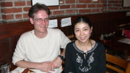 Dr. Trader and his wife Yuko.