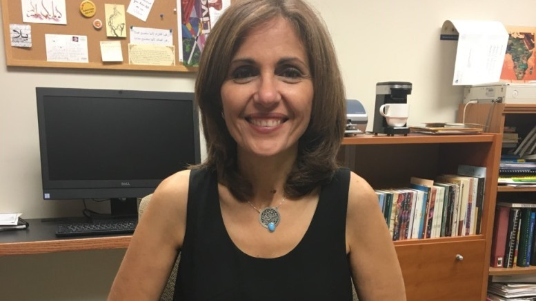 Professor Carol Zaru. Photo by Grace Hounsou.