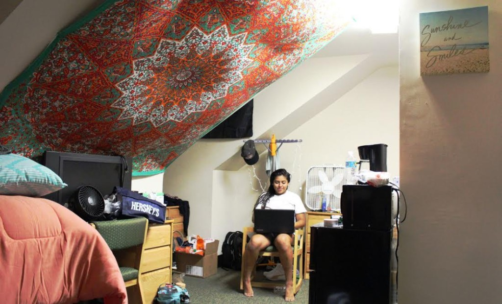 my dorm room essay For me, life in a dorm room was a mixture of the crowded bliss of summer camp and the tension-filled hostility of a sibling relationship (but with none of the love to balance things out).