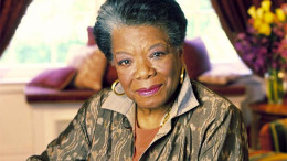 Maya Angelou. Photo courtesy of UrbanCusp.