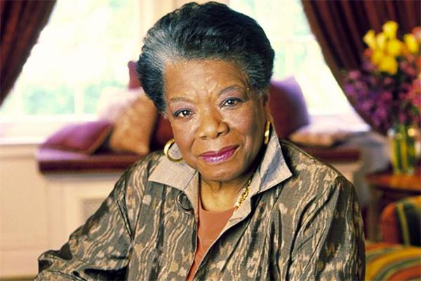 Maya Angelou. Photo courtesy of UrbanCusp.