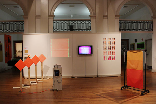 A front view of the exhibition. Photo by Genna Weger.