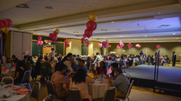 The Forum was filled with 160 guests for ACC's Taste of Asia dinner. Photo by Kyle Parks.