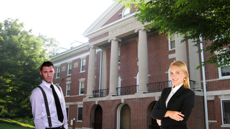 Some of McDaniel's wealthier students have been humbled since living in McDaniel Hall.