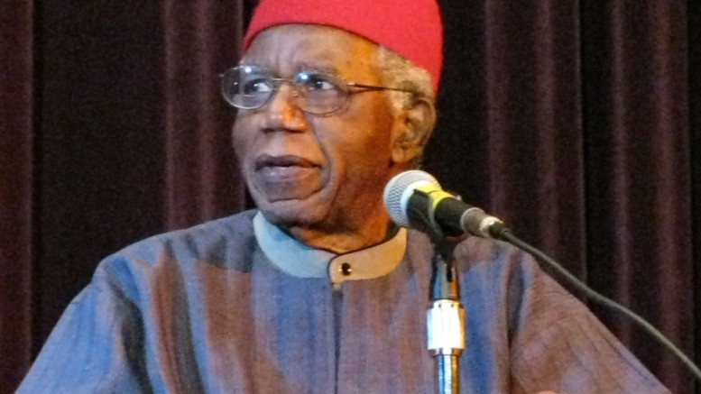Chinua Achebe. Photo courtesy of Stuart C. Shapiro. Licensed under Creative Commons 3.0.