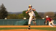 Zach Fortuna closed the doubleheader sweep for McDaniel on April 15 at Preston Field. Photo by Atticus Rice.