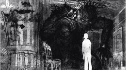 A Monster Calls includes illustrations by Jim Kay. Image courtesy of The Verge.