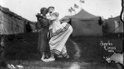 – Pete and Florence Mardo, Sparks Circus, 1923. Photo by Frederick W. Glasier. Courtesy of The Ringling.