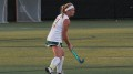 Megan Quattrone during McDaniel's 6-1 Oct. 4 loss at Franklin & Marshall.