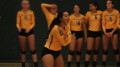 Marlowe Embry finished an impressive first season with McDaniel volleyball Wednesday night.