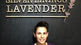 Dawn Pritchard, owner of Silver Linings Lavender. Photo by Gunnar Ward.